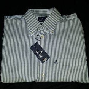 Men's Stafford button down dress shirt